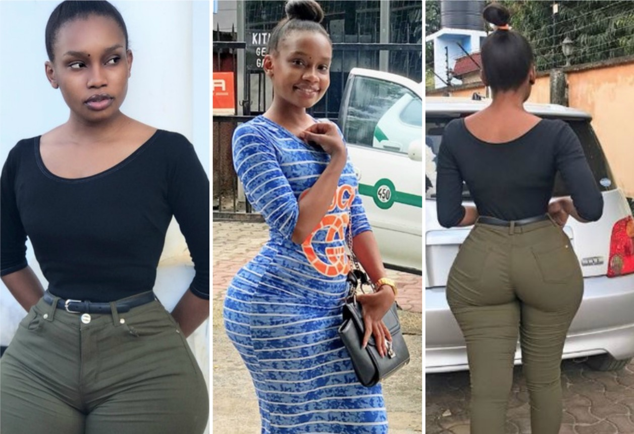 See The Young, Curvy Tanzanian Slay Queen With Big Hips ...