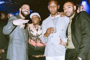 Wizkid Parties With Drake In London