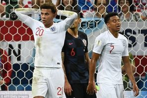 #WorldCup2018: Dele Alli & Lingard Gets Blame For England Defeat