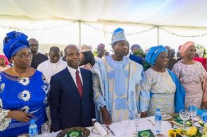Yemi Osinbajo and wife attend Pastor Adeboye's wife 70th birthday thanksgiving service (photos)