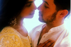 See photos from Priyanmka Chopra and Nick Jonas's engagement ceremony in India