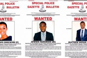 9 bankers declared wanted for stealing customers' deposits totaling over N500million
