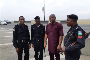 Pastor Reveals What Policemen Did After Being Stranded On Lagos Bridge.