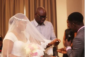 Fayose gives out his daughter's hand in marriage, rocks jeans(Photos)