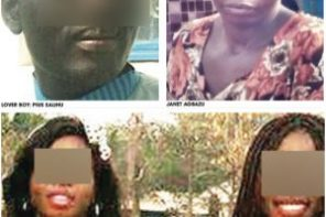 See 45-Year-Old Mum & Her 16-Year-Old Twin Daughters Pregnant For One 'Fine Face' Man