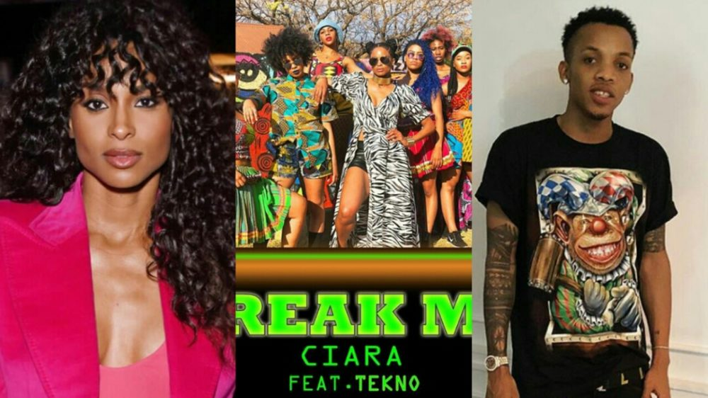 Image result for Ciara Collaborates With Nigerian Star Singer, Tekno For New Single Titled, Freak Me