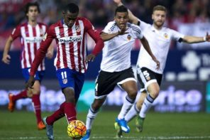 Atlectico Madrid lost early ground to Barcelona and Real Madrid