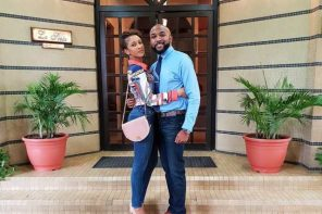 Beautiful New Photos Of Banky W & Wife, Adesua Etomi