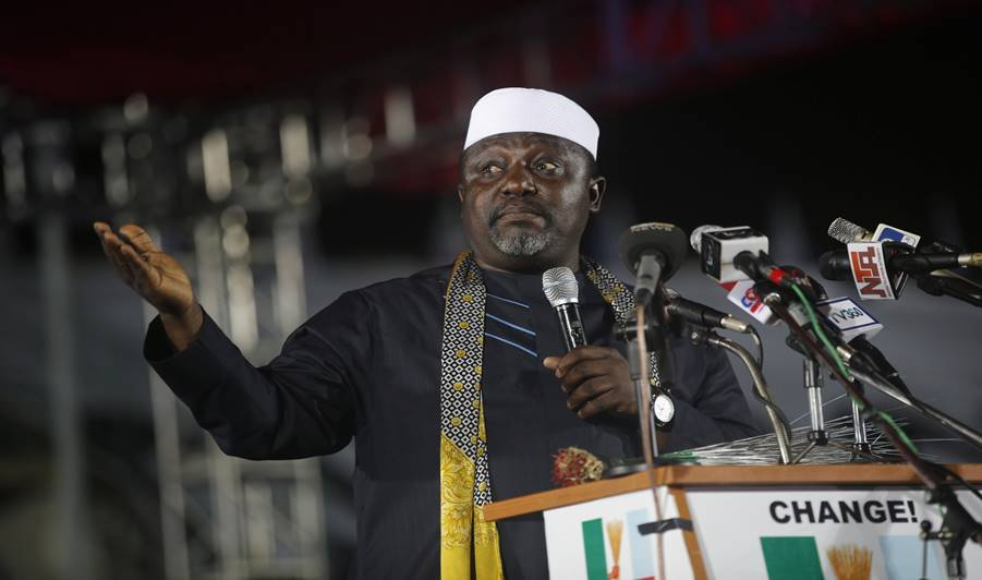 """I am more favoured to become the first Igbo President"" - Governor, Rochas Okorocha"