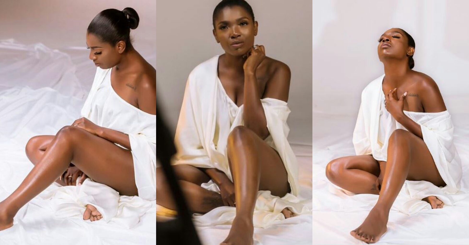 lovely bedroom photos of annie idibia surface online - See How Annie Idibia Celebrated Her 4 Million Reach On Instagram Despite Rumour Of A Crack In Her Marriage