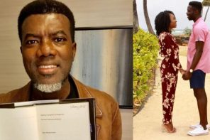 """Maintaining your girlfriend means you're very stupid"" – Reno Omokri tells Nigerian men"