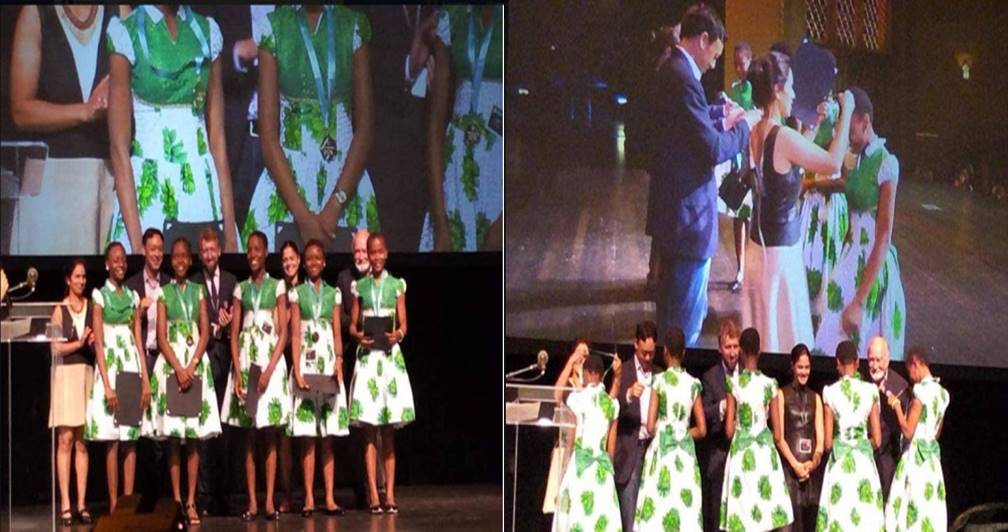 Nigerian Schoolgirls Win International Mobile App Competition In US (Photos)