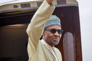 Buhari returns home after UK vacation (video)