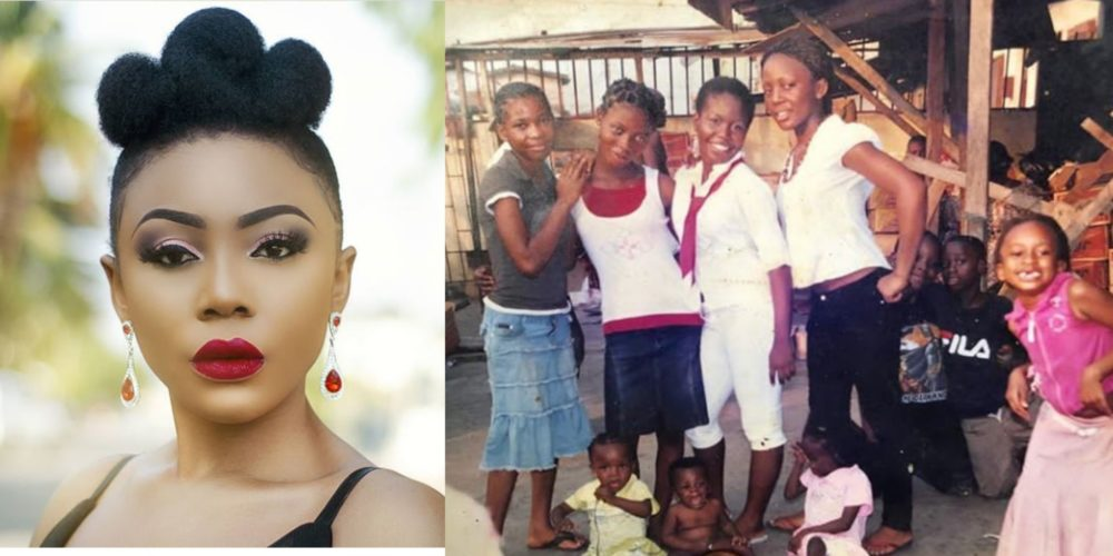 """Once upon a time poverty was my next door neighbour"" – Ifu Ennada shares touching story with throwback photo"