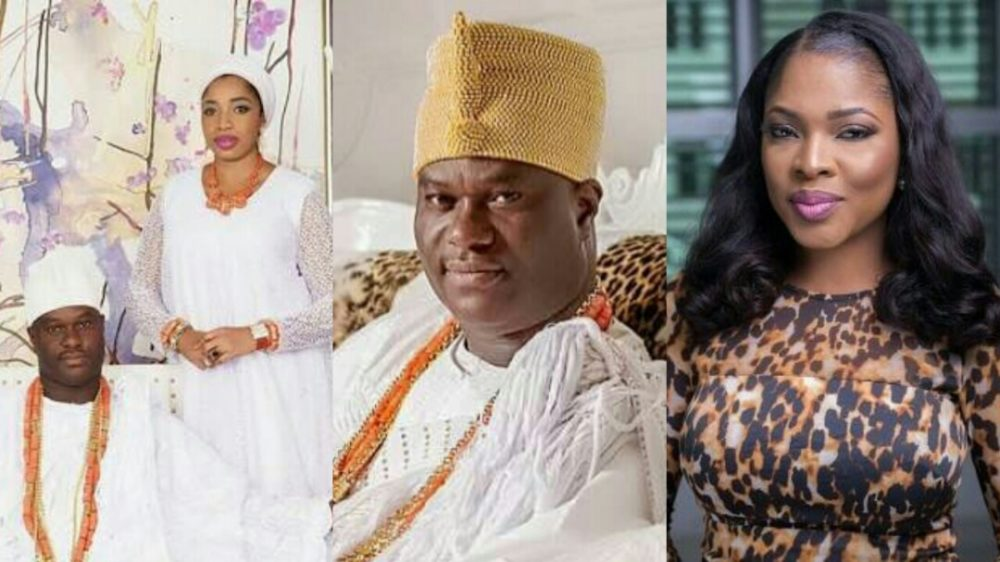 Image result for Ooni of Ife finally speaks on reported wedding to Temitope Adesegun..