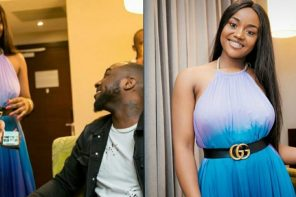 'I lucky say I jam you' – Davido gushes about Chioma's stunning photos… She replies