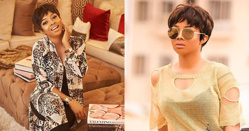 """Staying in a marriage because of financial gain is lame"" — Toke Makinwa tells women"