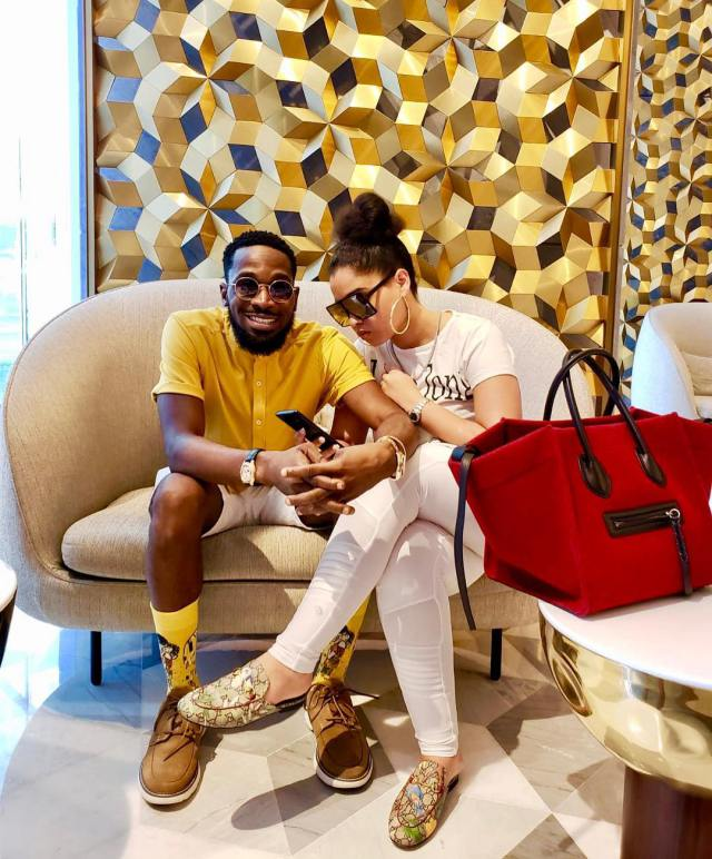 Image result for dbanj and wife on vacation