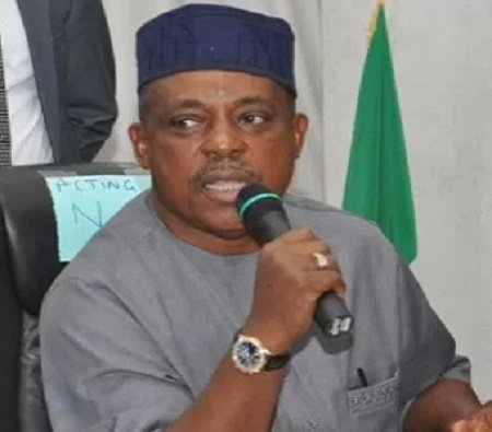Uche Secondus PDP - 2019: Pdp has got intelligence that apc already camping foreigners to rig election