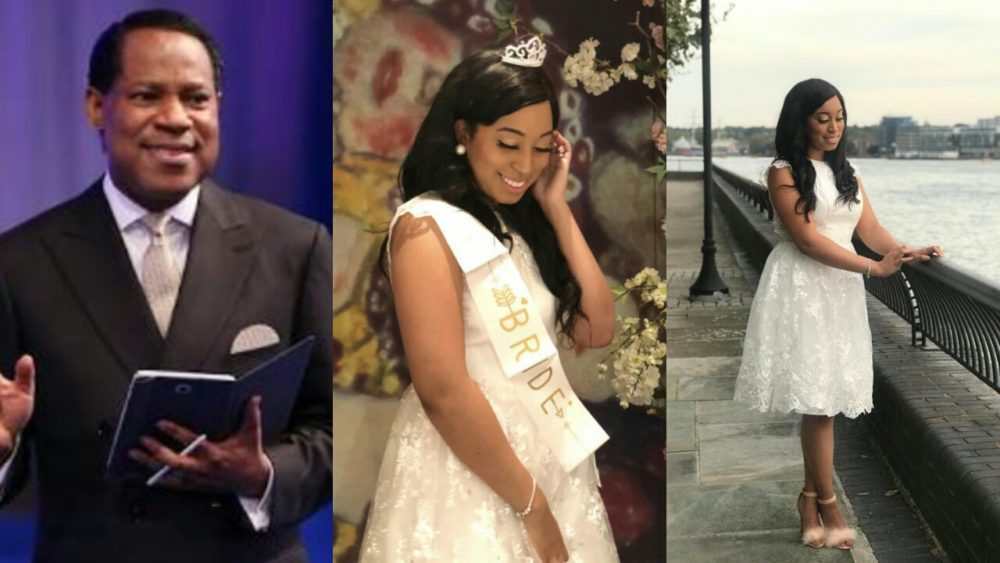 pastor chris oyakhilomes daughter carrissa sharon oyakhilome has taken to her social media to share some beautiful photos from her bridal shower which held