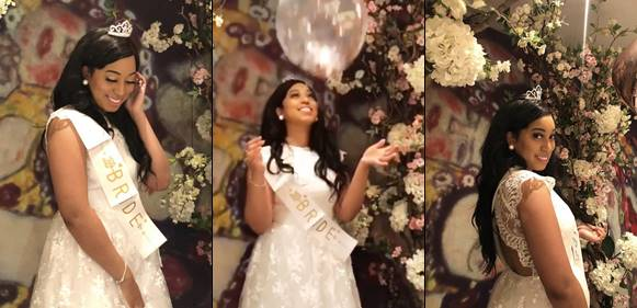 pastor chris oyakhilomes daughter carrissa sharon oyakhilome shared some stunning photos from her bridal shower which held last nightin anticipation of
