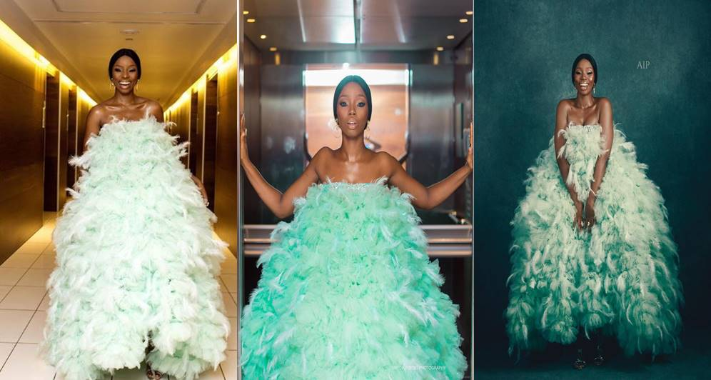 fashion is art bambam fires back at critics of her amvca dress