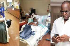 """Going home with my prince"" – Linda Ikeji writes as she finally reveals Sholaye Jeremi is the father"