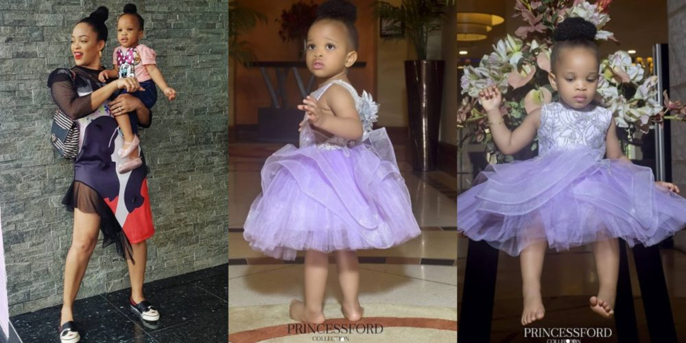 Joseph Yobo's 1-year-old daughter turns a professional model as she lands  her first paid job