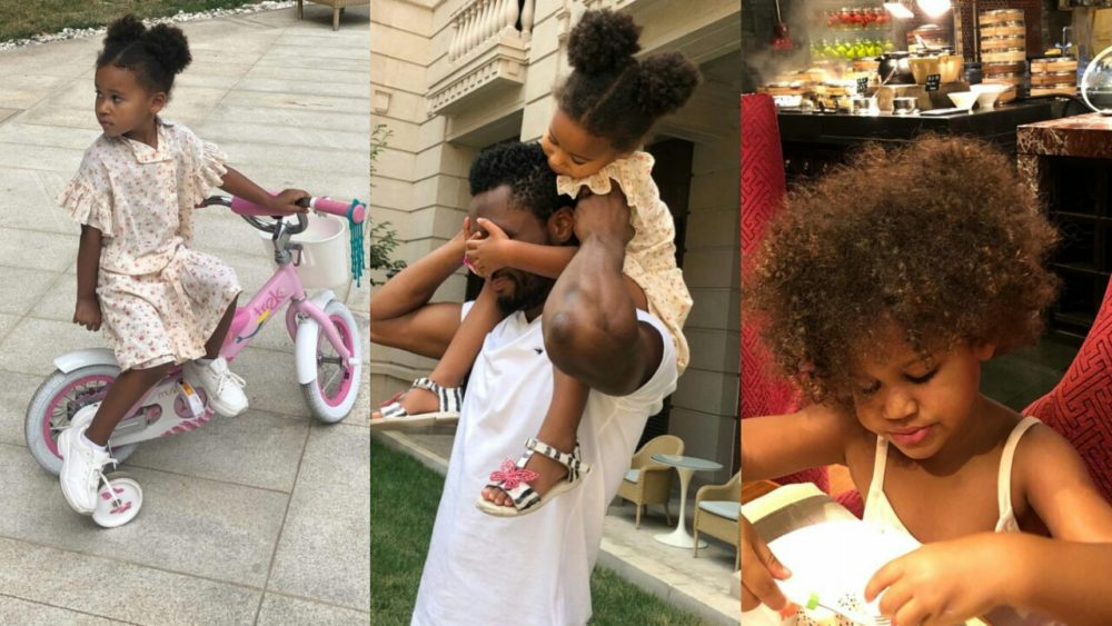 mikel obi s sweet birthday message to his twin daughters as they