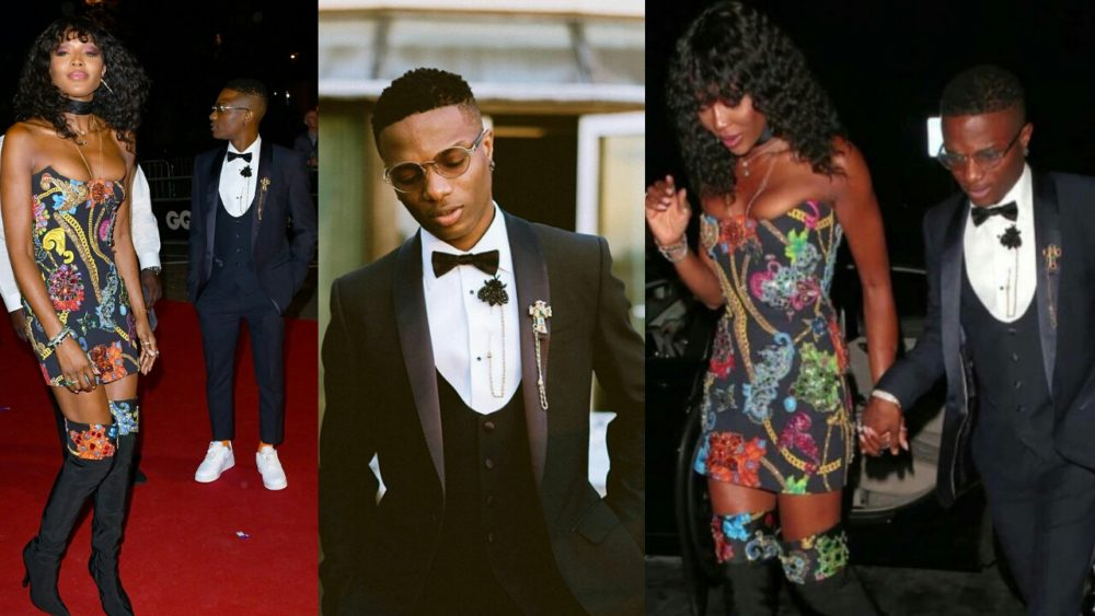 Image result for He is like a brother to me — Naomi Campbell Reacts To Rumours Of Her Relationship With Wizkid