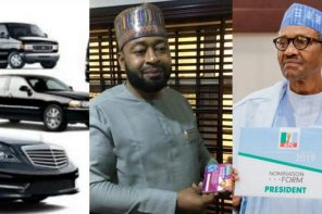 Nigerian man says he will support the re-election of President Buhari with 100 cars