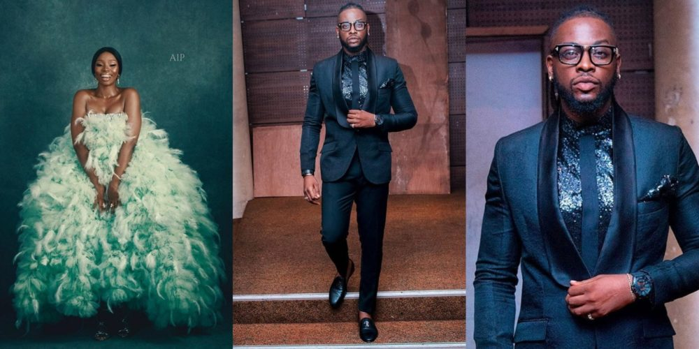 Image result for Teddy slams fans over Bam Bam's dress, says Nigerians need to be more open minded to fashion (Take a look at the video)