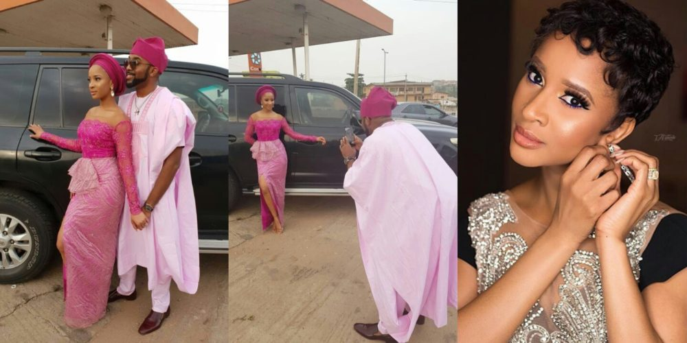 """Image result for """"There is no big deal in being my wife's personal photographer"""" – Banky W says"""