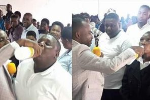 """They were drinking the blood of Jesus"" – Pastor who gave members JIK bleach to drink defends his action"