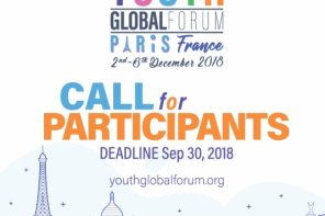 Apply Now To The Youth Global Forum Paris 2018 (Partially Funded)