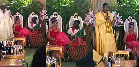 First Photos From The Traditional Wedding Of Sharon Oyakhilome