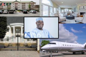 How did Atiku Abubakar get that rich? ► See Atiku's Companies, Mansions, Private Jet & Cars