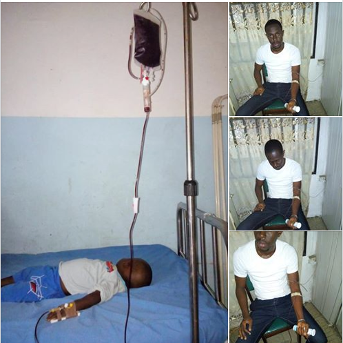How Man Saved The Life Of His Neighbour's Child In Port-Harcourt (Photos)