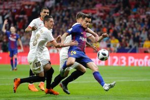 Barcelona vs Sevilla: Describe This Coutinho's 'Stunning Goal' In One Word(video)