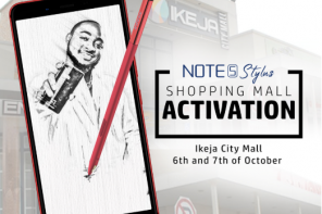 How it all went down at the Infinix Note 5 stylus #TheIntelligentCreator competition/activation at Ikeja City Mall