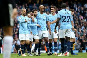 Here Is How Mancity Players Reacted To Going Top Of The League Table