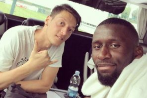 See How Chelsea Midfielder, Antonio Rudiger, Wished Mesut Ozil  'Happy Birthday'