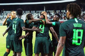 See How Super Eagles Defender, William Troost Ekong, Reacted To Super Eagles Going Top Of Group E