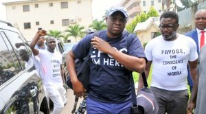 Fayose debunks rumours, he has started owning up to corruption allegations against him by EFCC
