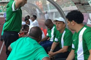 Despite Emerging Victorious, Fans Lash At Super Eagles Coach, Gernot Rohr.