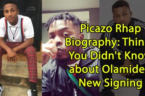 Picazo Rhap Biography: Things You Didn't Know about Olamide's New Signing