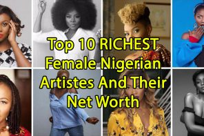 2018 Top 10 RICHEST Female Nigerian Musicians And Their Net Worth