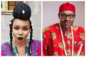 Yemi Alade Promise to Deal with Buhari, Calls him heartless