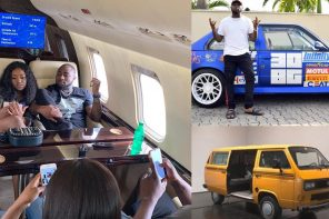 Davido And Chioma Now Into Danfo And Motorsports Business