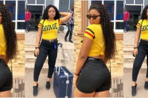 ' Happy Girls Are The Prettiest' – 18 Years Old Actress, Regina Daniels, Says As She Share Sexy Pictures Of Herself (Pictures)